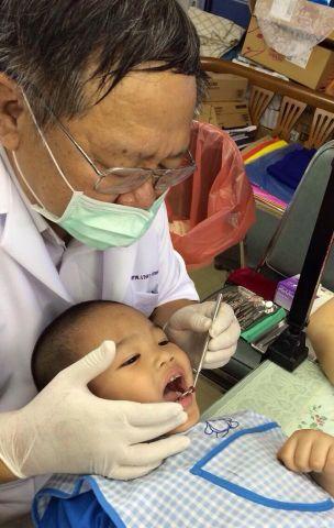 กิจกรรมตรวจสุขภาพฟัน