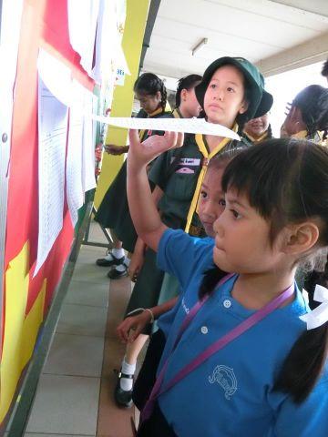 กิจกรรมการเลือกตั้งคณะสภานักเรียนประจำปีการศึกษา 2560