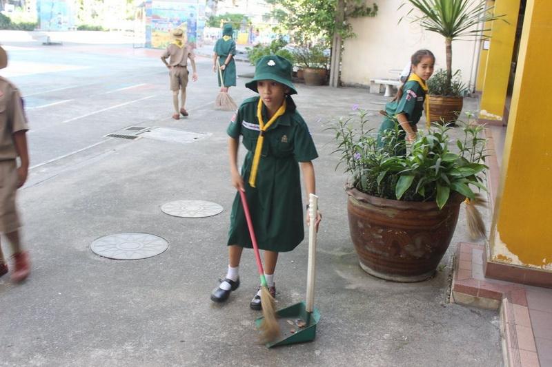 กิจกรรม วันมหาธีรราชเจ้า และ cleaning day