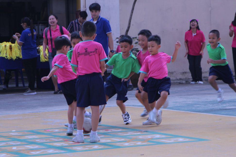 กีฬาสีสัมพันธ์ และ วันเด็ก