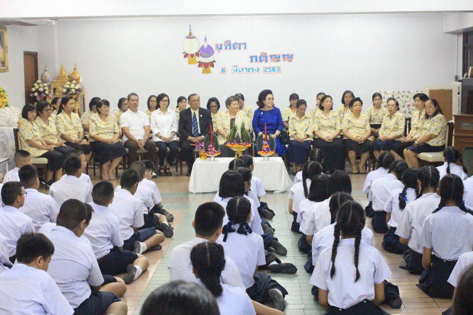 กิจกรรมปีการศึกษา 2562 - กิจกรรมมุทิตา กตัญญู นักเรียนชั้นประถมศึกษาปีที่ 6
