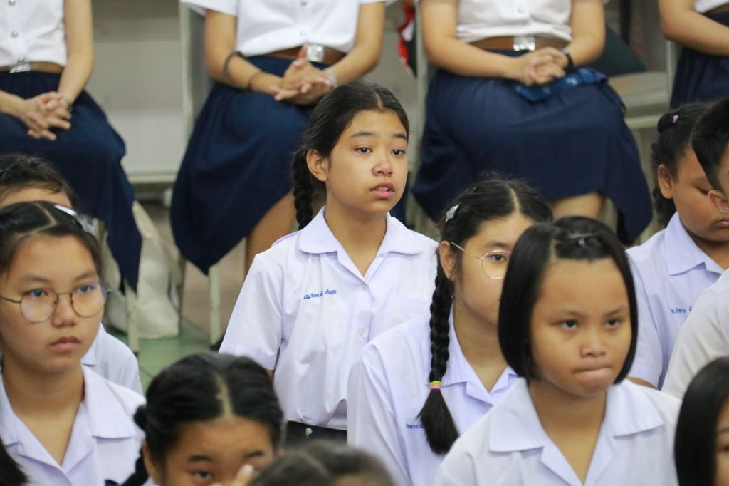 กิจกรรมมุทิตา กตัญญู นักเรียนชั้นประถมศึกษาปีที่ 6