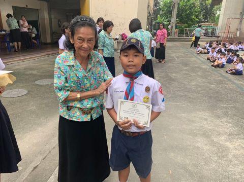 พิธีมอบเกียรติบัตร และประดับเข็มงามอย่างไทย ปี 2562