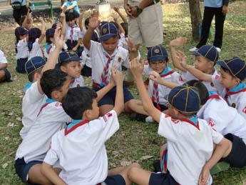การเข้าค่าย day camp ของลูกเสือ เนตรนารี ป.1 3