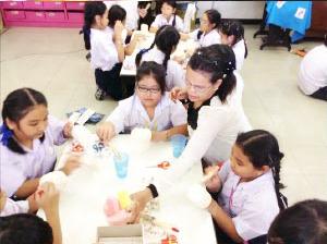 กิจกรรมชมรมของนักเรียนระดับชั้นประถมศึกษา