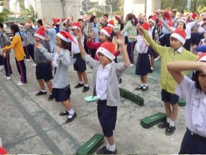 กิจกรรมวันคริสต์มาส 2013