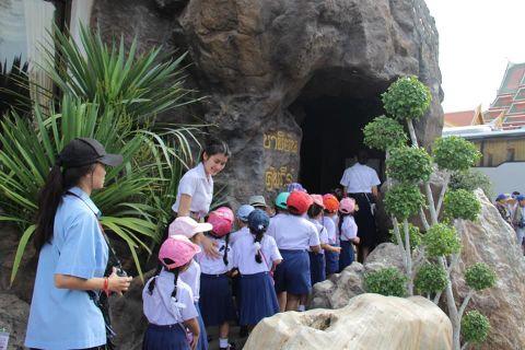 กิจกรรมทัศนศึกษาที่วัดสระเกศราชวรมหาวิหาร (ภูเขาทอง) ชั้นปฐมวัยปีที่ 2